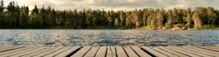 Overnachten in een boomhut in Zweden